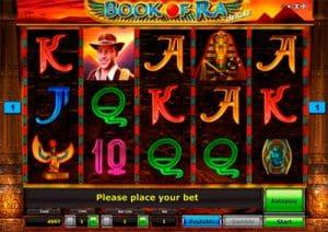 Book of Ra online mit Echtgeld spielen