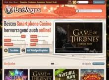 LeoVegas - das beste Handy Casino weltweit!
