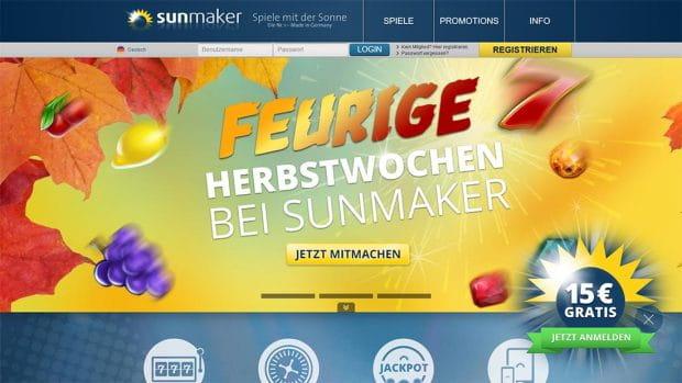 Sunmaker Identifikation